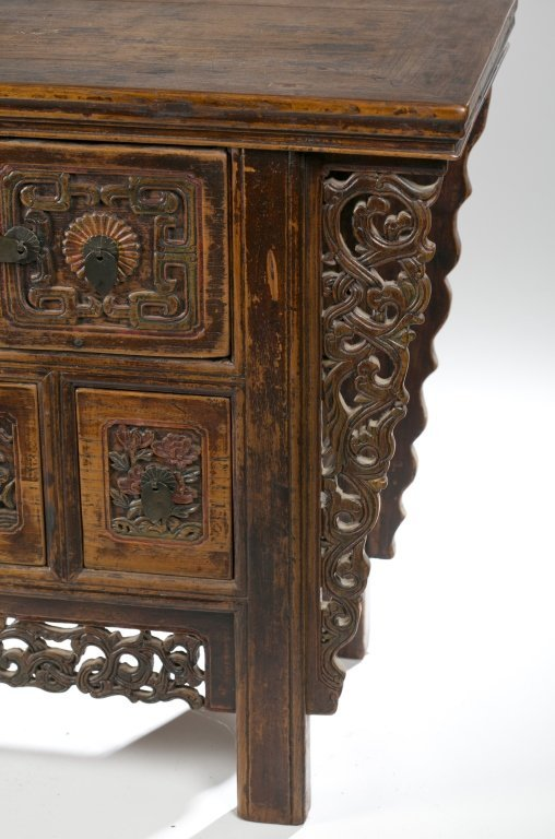 19th/20th c. Japanese Carved Console Table. - 2
