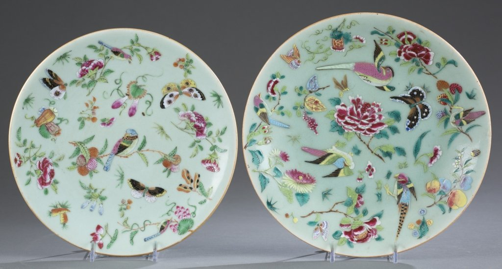 Two Dao Guang Period Qing Export Plates.