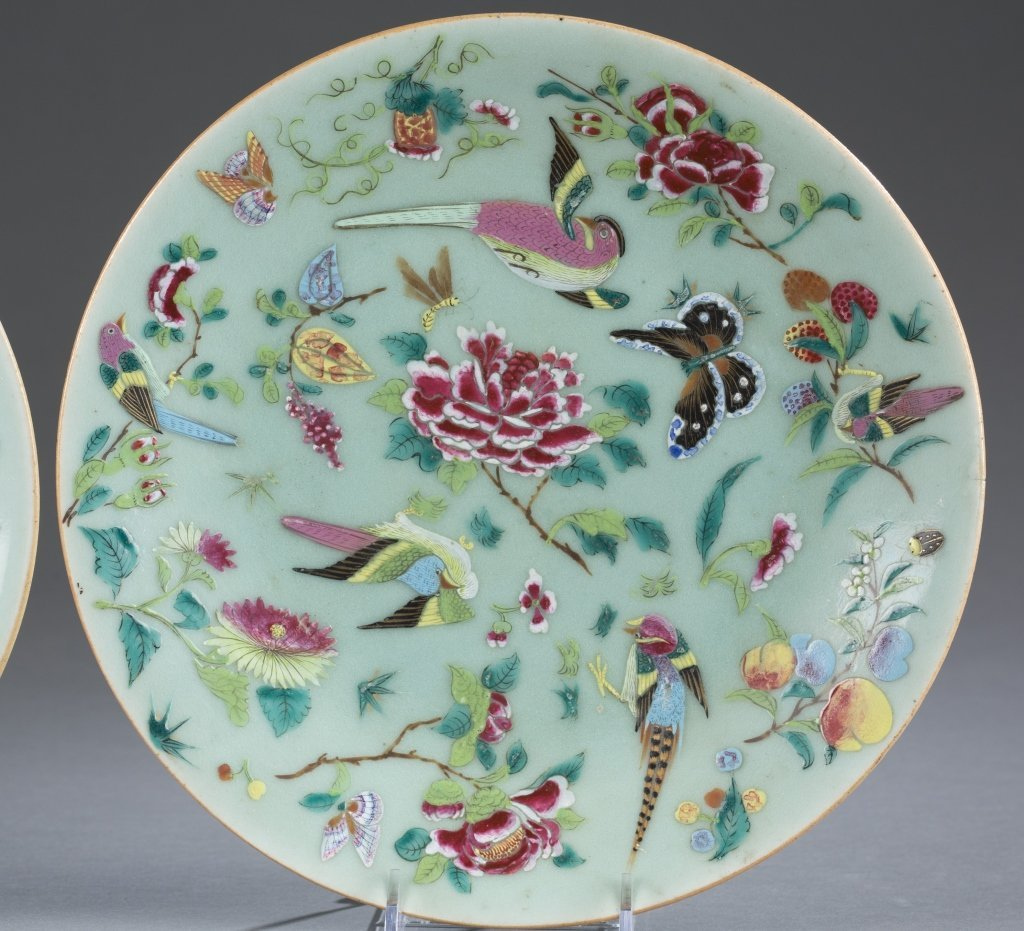 Two Dao Guang Period Qing Export Plates. - 3