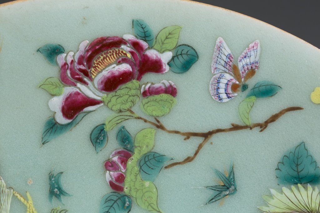 Two Dao Guang Period Qing Export Plates. - 7