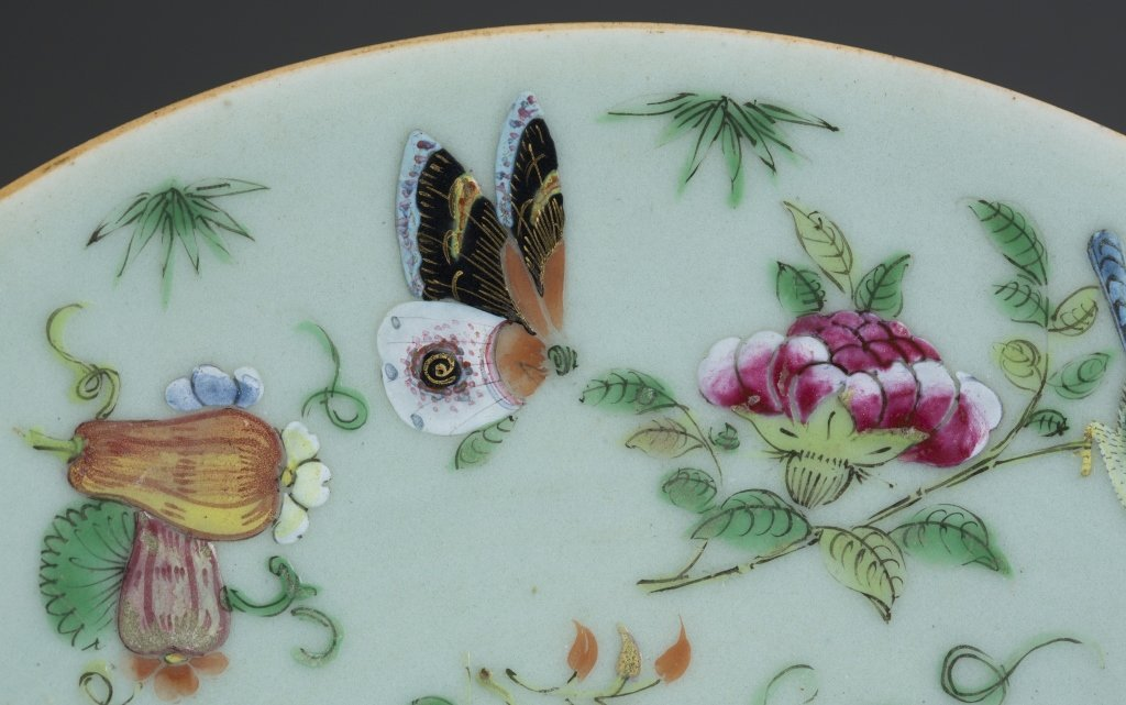 Two Dao Guang Period Qing Export Plates. - 9