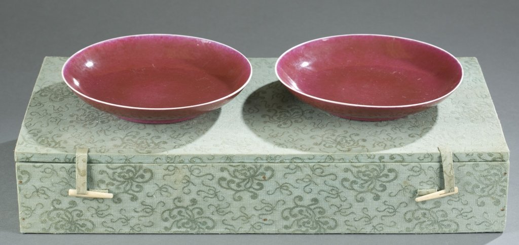 Pair of Qing Oxblood Bowls. - 4