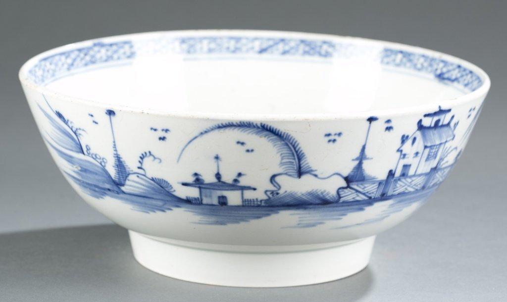 Blue & White Chinese Bowl.