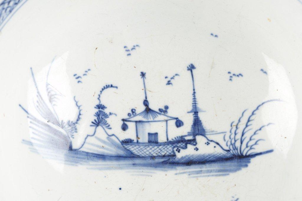Blue & White Chinese Bowl. - 2