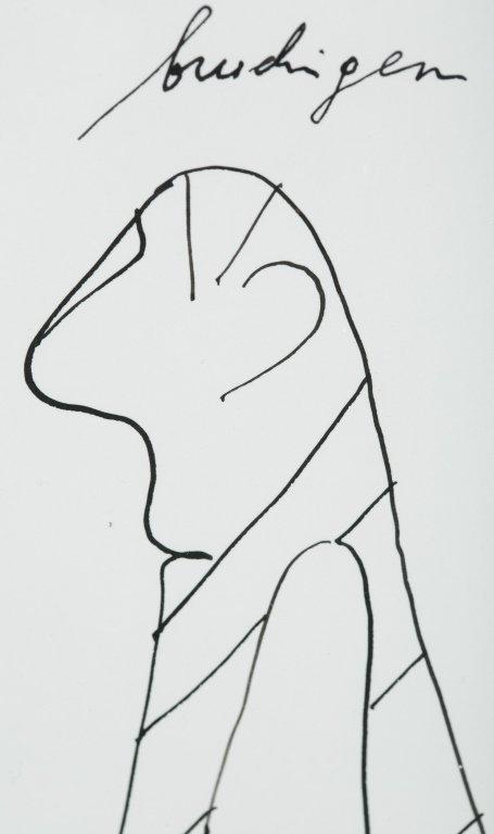 """""""Eine Katre mit brudigen schmanz,"""" 1991. - 2"""