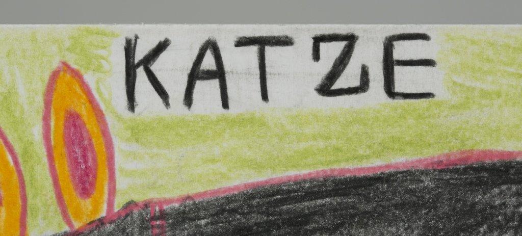 "August Walla (Germany, 1936-2001) ""Katze"". - 2"