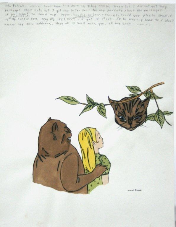 Marcel Dzama (Canada, b. 1974). - 2
