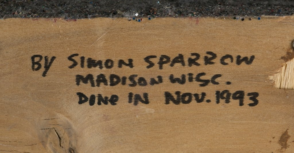 Simon Sparrow (US/Wisconsin, 1925-2000). - 5