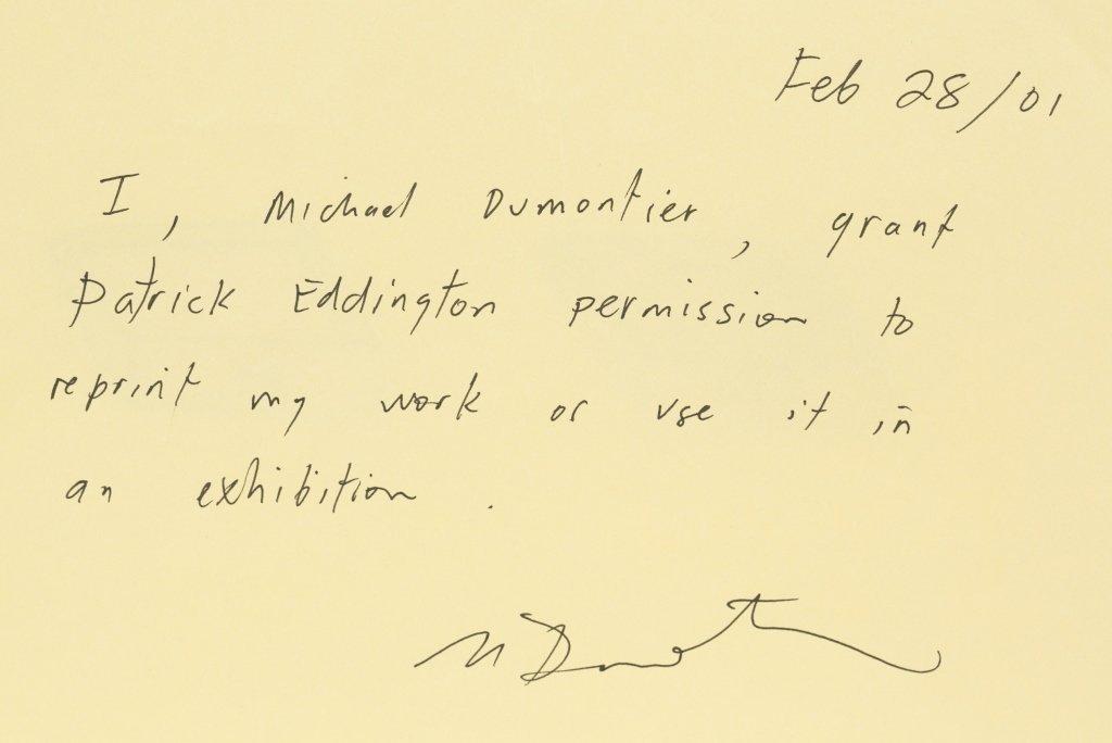 Michael Dumontier (Canada, b. 1974). - 3