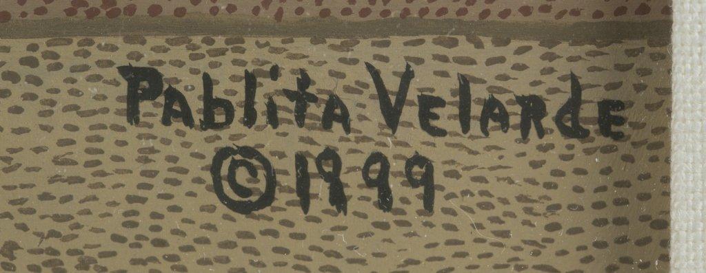 Pablita Velarde (US/New Mexico, 1918-2006). - 3