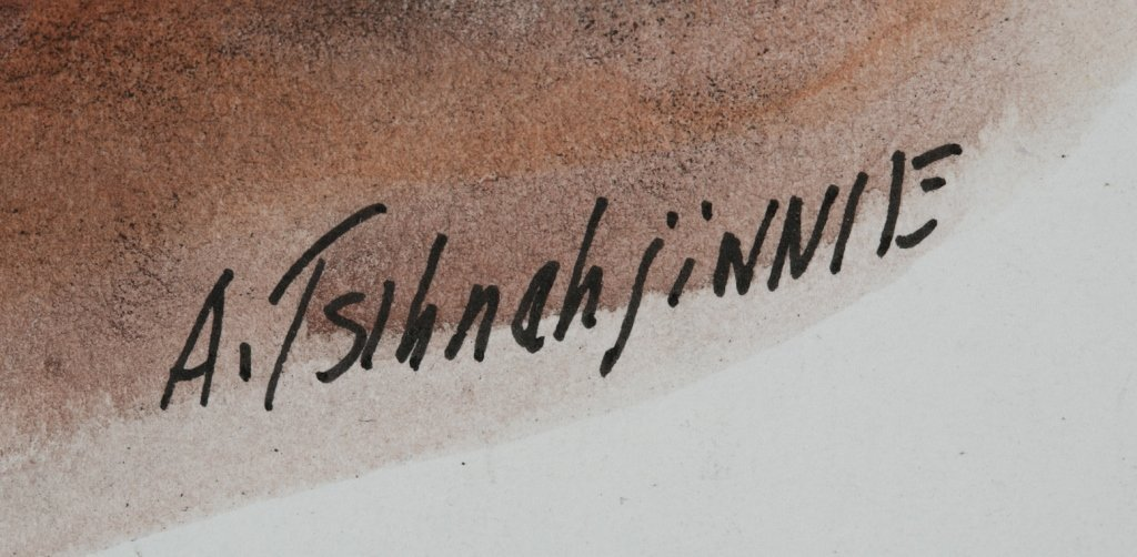 Andrew Van Tsihnahjinnie (Arizona, 1916 - 2000). - 7