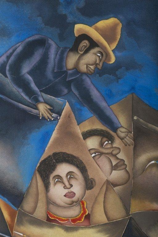 Maximino Javier (Mexico, b. 1948). - 3