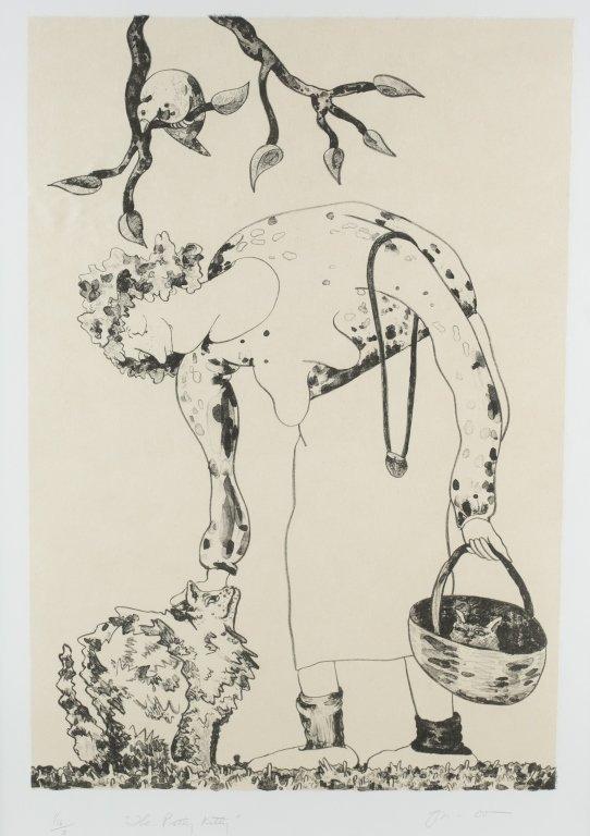 Gladys Nilsson (US/Illinois, b. 1940). - 2