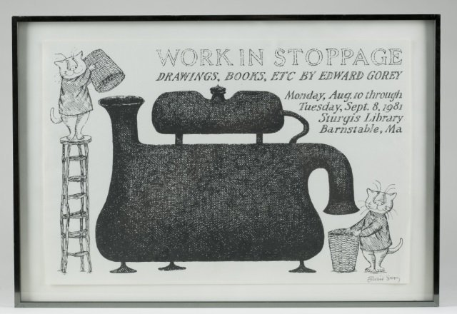 """Work In Stoppage"" By Edward Gorey."