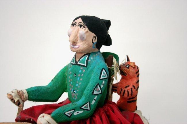 Delbert Buck (New Mexico/Navajo, b. 1946) Sculpture. - 3