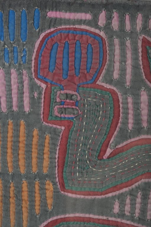 Two Colorful Folk Art Cat Tapestries. - 6