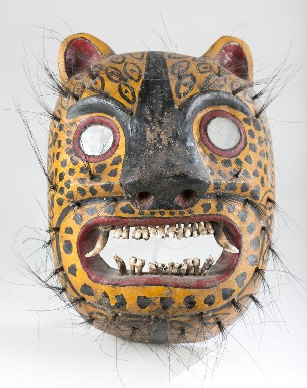 Mexican Jaguar Mask, 20th c.