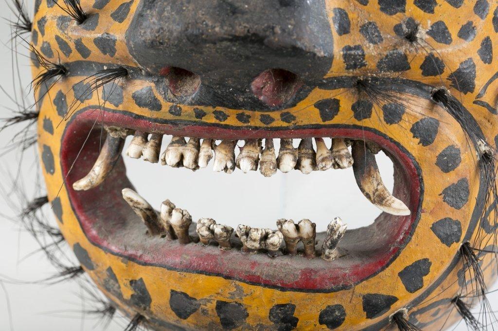 Mexican Jaguar Mask, 20th c. - 2