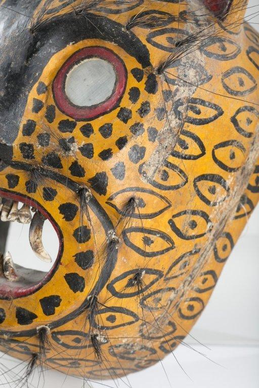 Mexican Jaguar Mask, 20th c. - 3