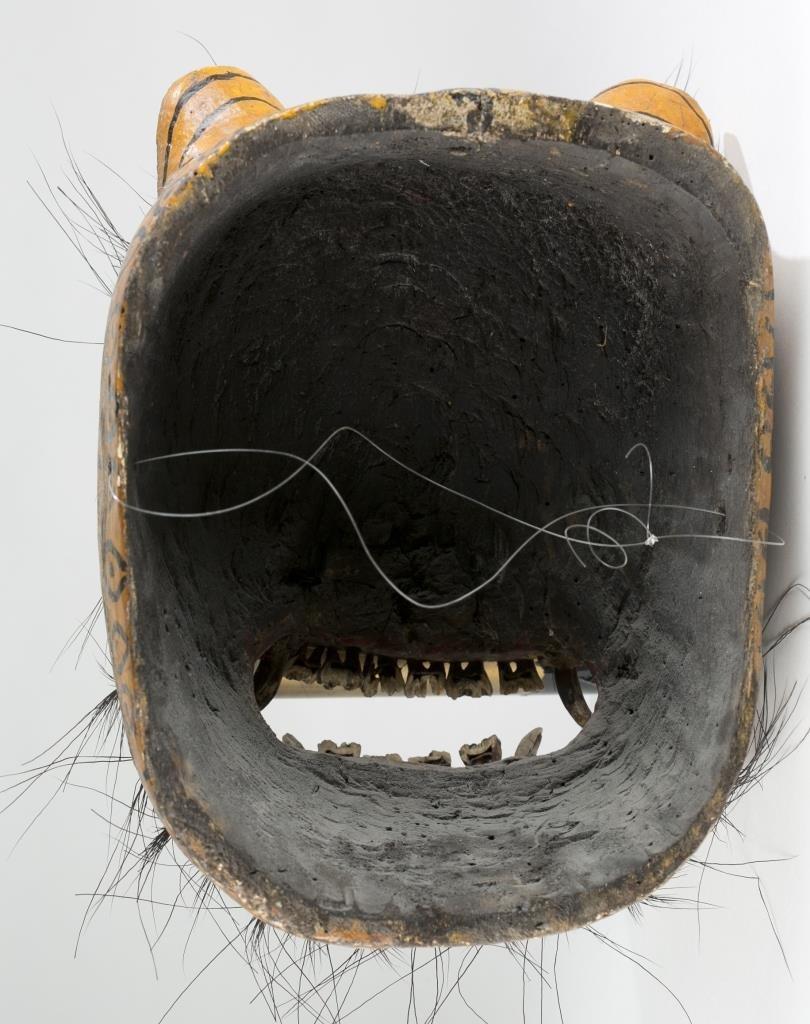Mexican Jaguar Mask, 20th c. - 4