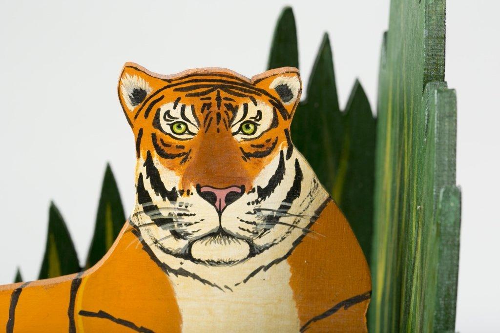John Butler Tiger Book Ends. - 3