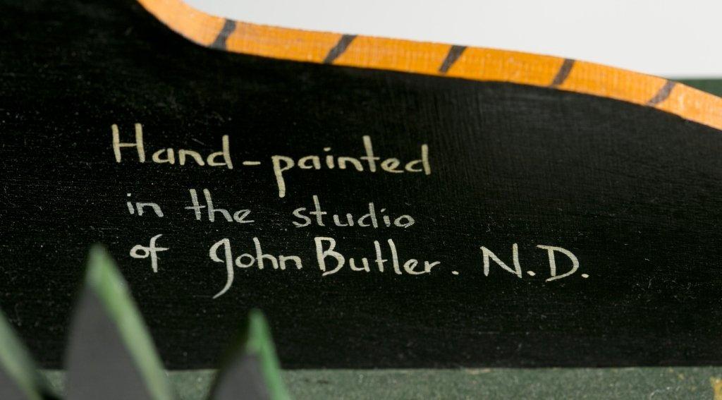 John Butler Tiger Book Ends. - 4