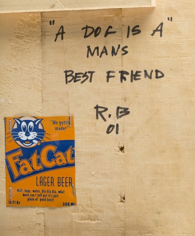 """A Dog is a Man's Best Friend"" by RB '01. - 5"