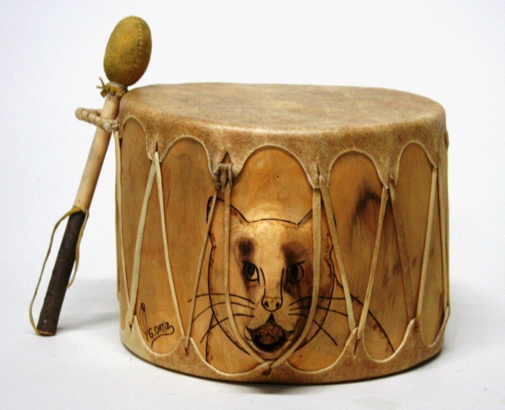 Cat Drum by G. Ortiz.