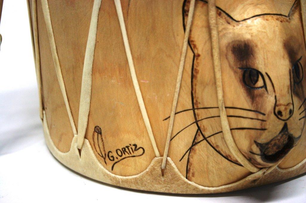 Cat Drum by G. Ortiz. - 2