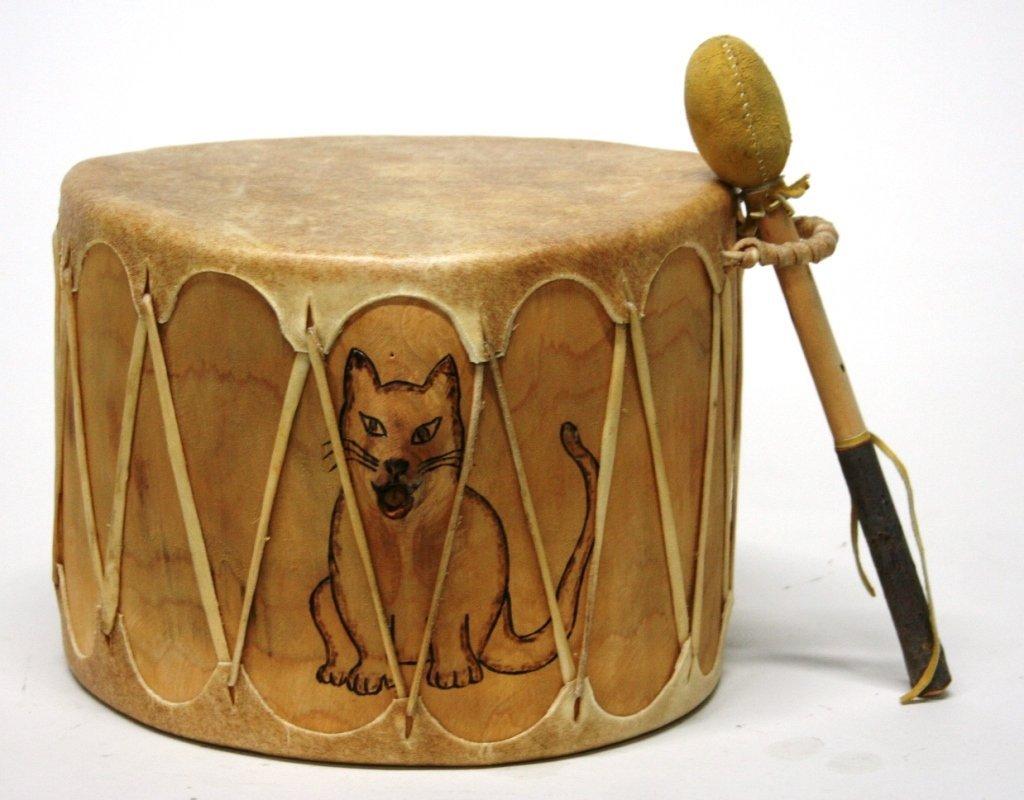 Cat Drum by G. Ortiz. - 3