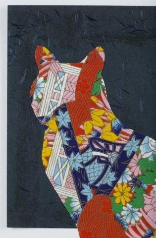 Karen Mantler Cat Collage. - 2