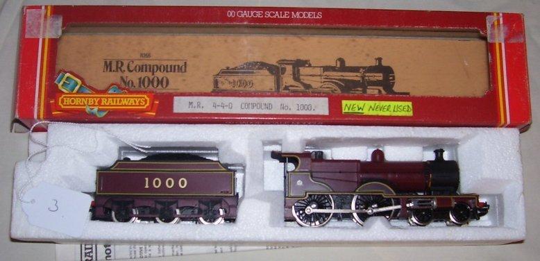 3: Hornby Railways R 355 M.R. Compound No 1000