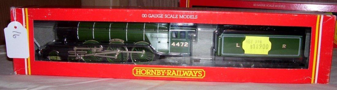 16: Hornby Railways R.398LNER 4-6-2 Loco,