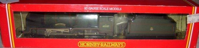 22: Hornby Railways R.578 BR 4-6-0 Loco,
