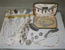 402: Two Good Vintage Costume Jewellery Bracelets,