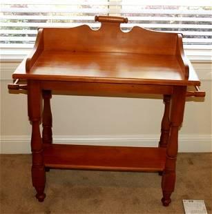 Victorian Style Pine Washstand ,