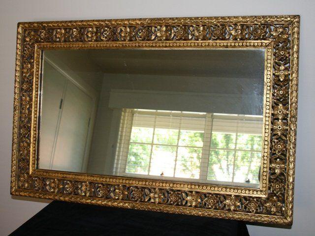 Late Giltwood Wall Mirror