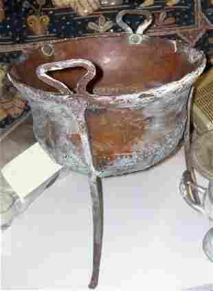 Early Copper Pot ,