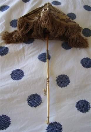 Victorian Ivory Umbrella