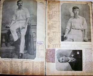 Colonial Cricket Scrapbook