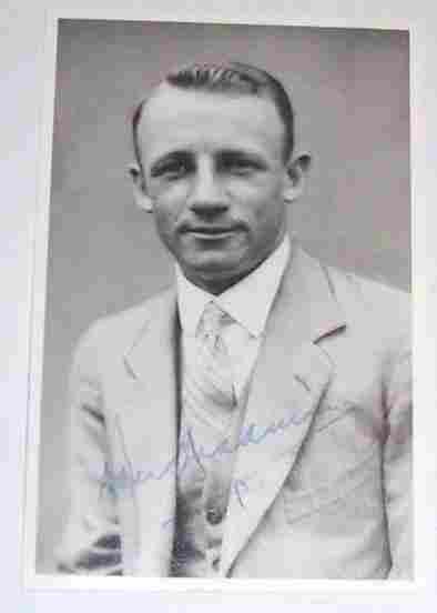Signed Bradman c1930