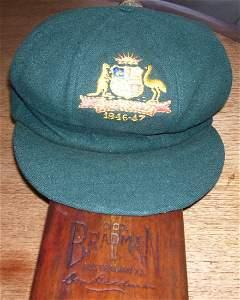 100: Bradman Testcap for 1946