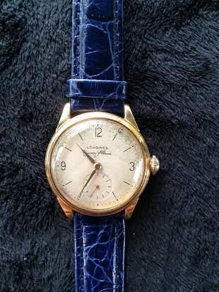 A Longines Gents 9 Carat Watch c 1960, ,