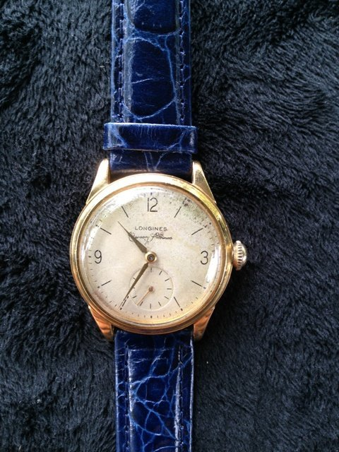 A Longines Gents 9 Carat Watch c 1960, ,