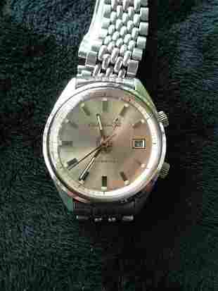 A Stainless Steel Citizen Alarm Watch c 1970,