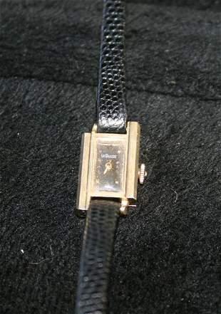 A Jaeger Le Coutre Ladies 14 Carat Watch c 1970