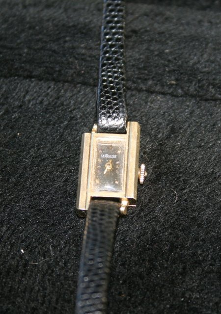 A Jaeger Le Coutre Ladies 14 Carat Watch c 1970