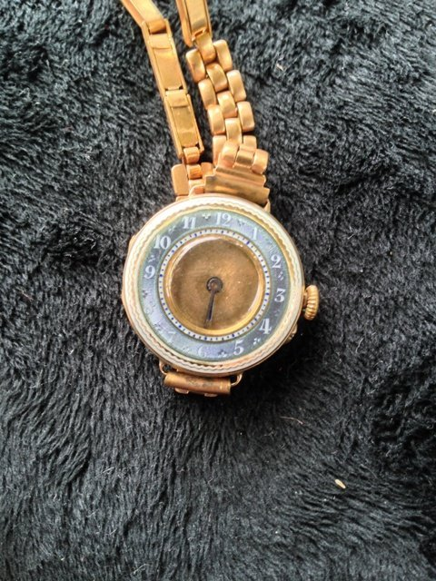 A Ladies 9 Carat Watch c 1920,