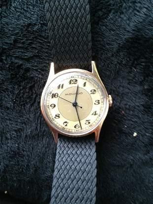 A Movado Gents/Boys 18 Carat Watch c 1950,