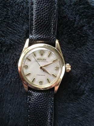 A Rolex Gold Fill Boys Watch ,